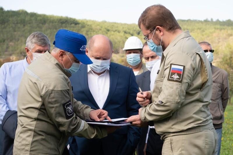 Глава Севастополя рассказал о работах по строительству водозабора на Бельбеке