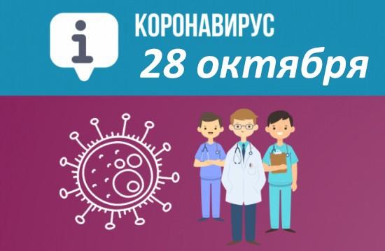 Оперативная сводка по коронавирусу в Севастополе на 28 октября