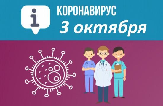 Оперативная сводка по коронавирусу в Севастополе на 3 октября