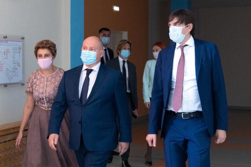 Губернатор Севастополя рассказал о визите в город Министра просвещения