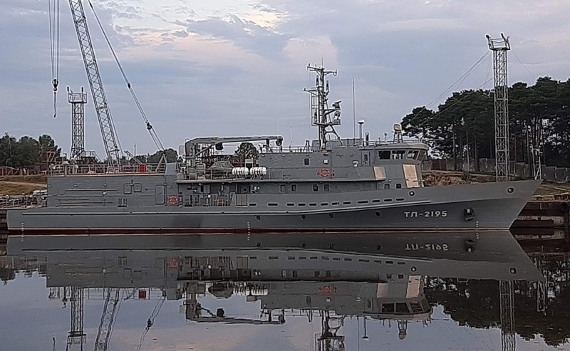 Новейший катер-торпедолов для Черноморского флота прошел электромагнитную обработку