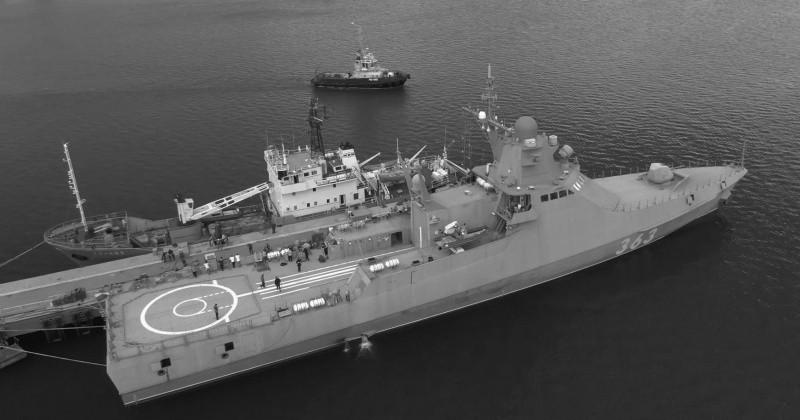 В состав Черноморского флота принят новый патрульный корабль