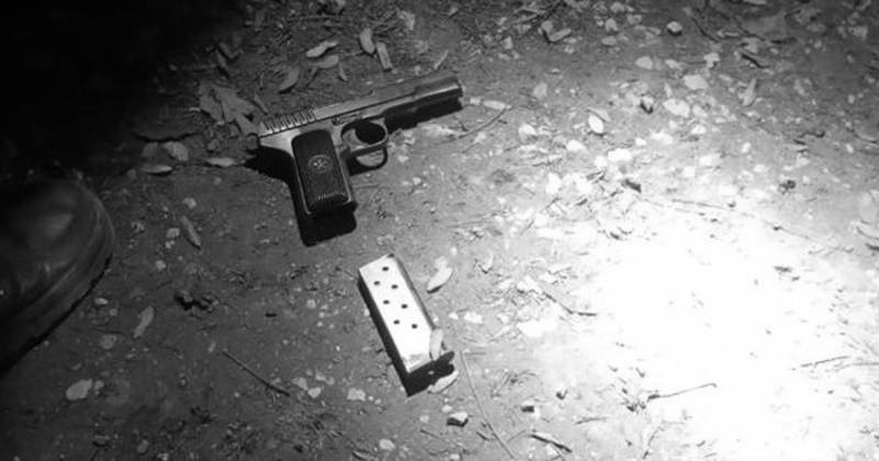 В Севастополе задержан мужчина с пистолетом в рюкзаке