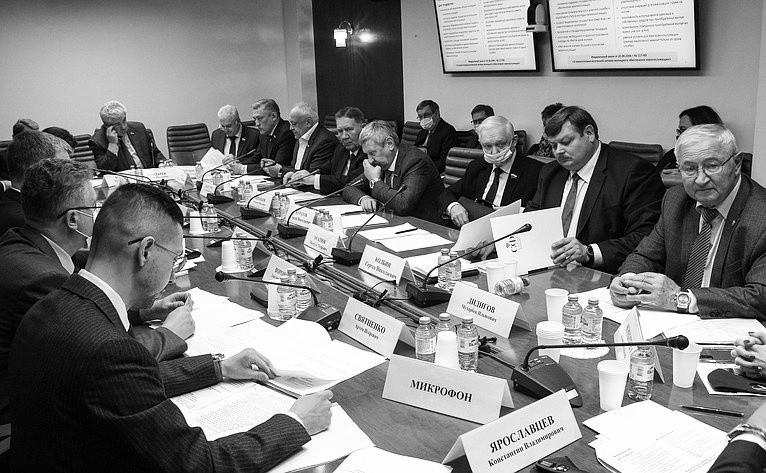 Сенатор от законодательной власти Севастополя провел первый рабочий день