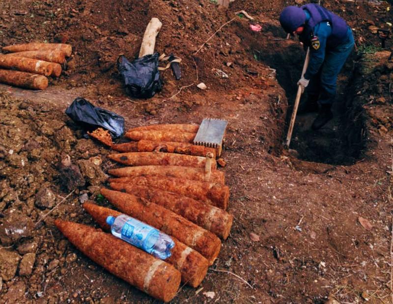 Севастопольские пиротехники обезвредили 21 взрывоопасный предмет