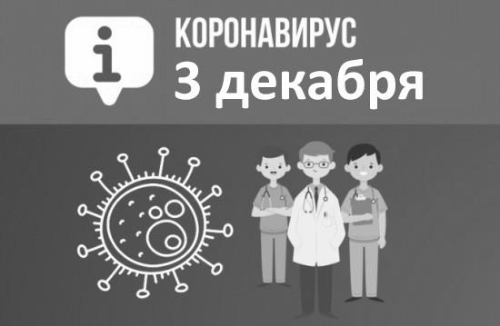 Оперативная сводка по коронавирусу в Севастополе на 3 декабря