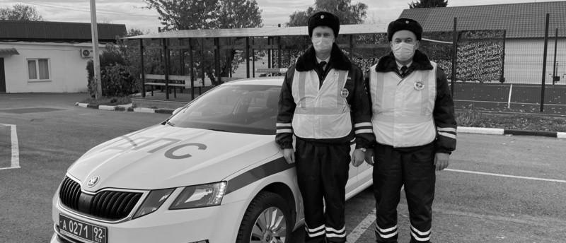 Сотрудники ГИБДД Севастополя помогли задыхающемуся ребенку