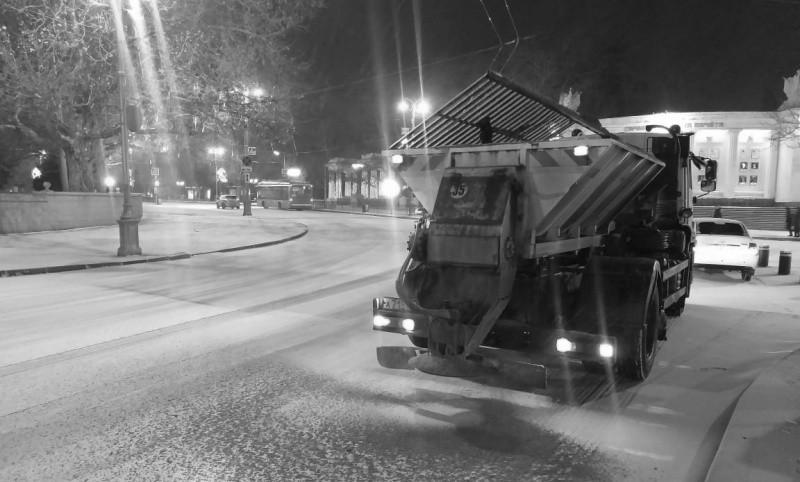 В Севастополе прогнозируется дождь и мокрый снег