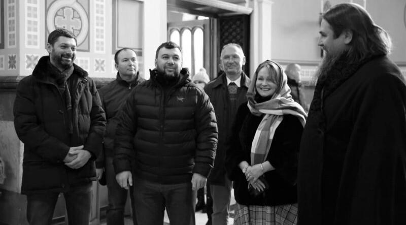 Глава ДНР посетил «Херсонес Таврический» в Севастополе