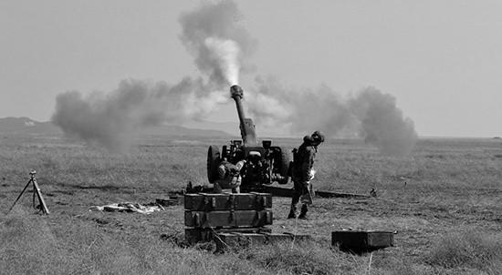 Артиллеристы приступили к тренировкам на полигоне «Ангарский» в Крыму