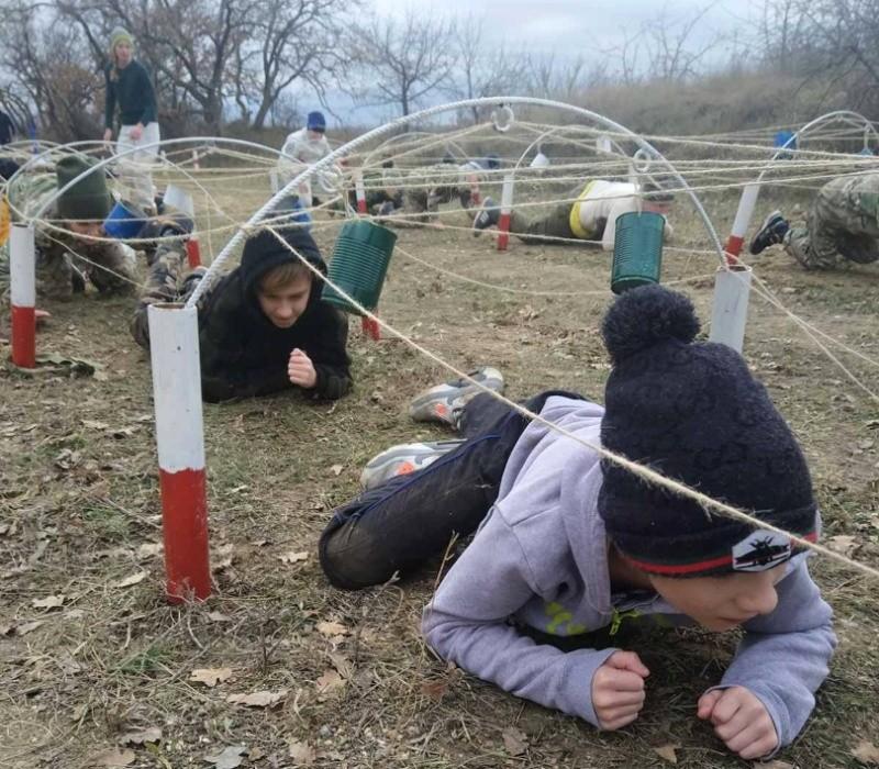 Юные рукопашники Севастополя готовятся к игре «Щит и меч»