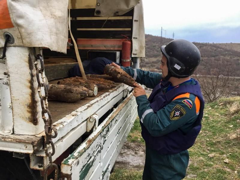 С начала 2021 года в Севастополе обнаружили 100 взрывоопасных предметов