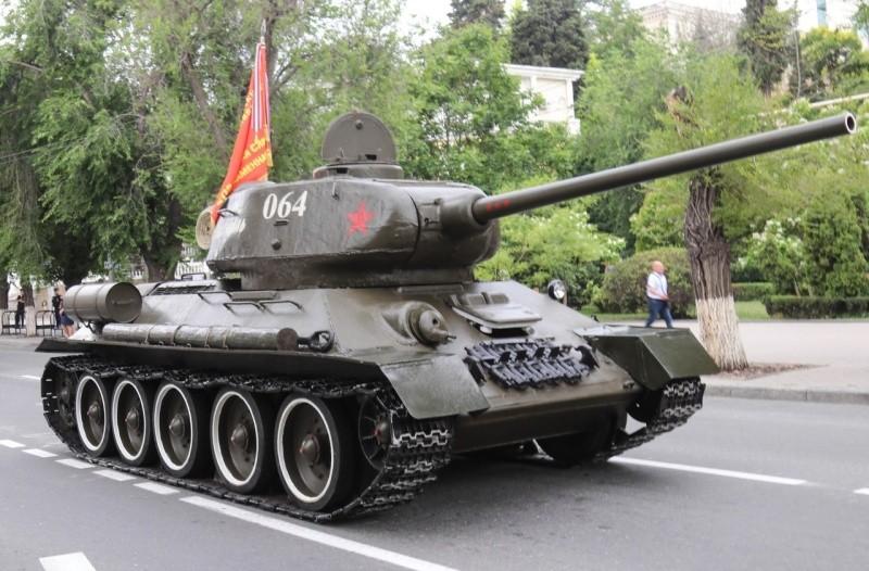 На «Сапун-горе» готовятся к запуску боевой техники времен ВОВ