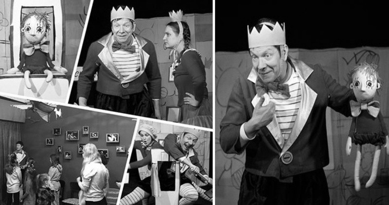 В Севастополе показали спектакль «Королевская игра»