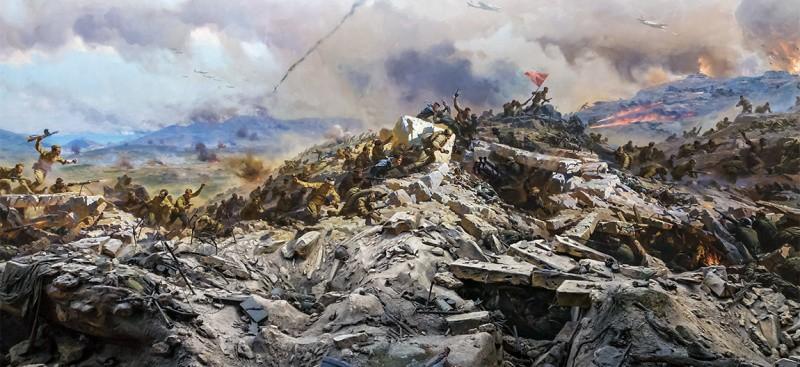 Диорама «Штурм Сапун-горы» в Севастополе