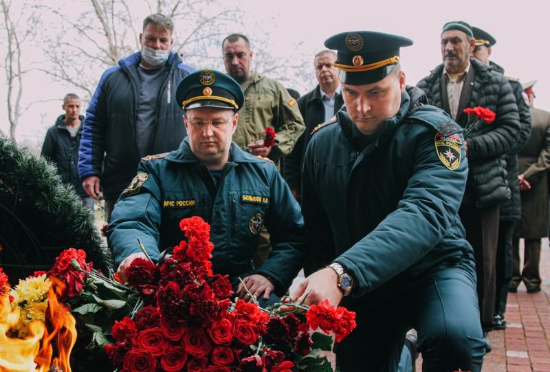 ВСевастополе почтили память погибших защитников Отечества
