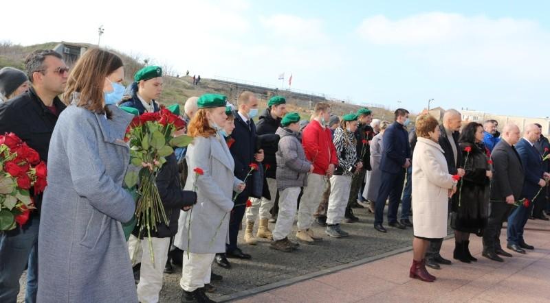 Юные рукопашники Севастополя встретились с участниками Русской весны