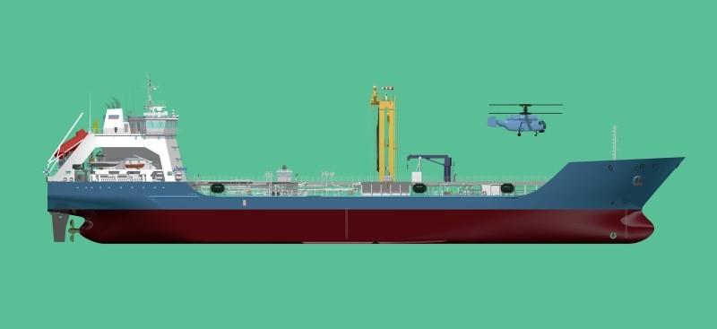 В Шлиссельбурге заложили первый серийный средний морской танкер для Черноморского флота