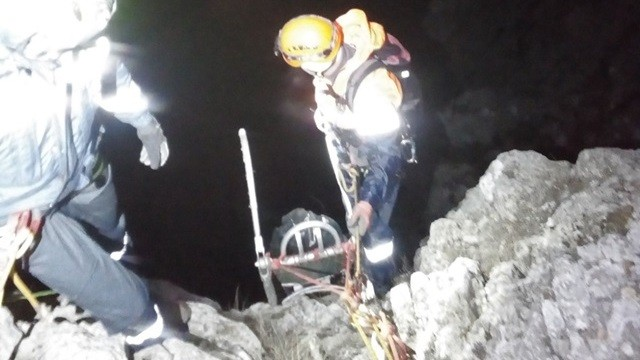 В Крымских горах погиб альпинист