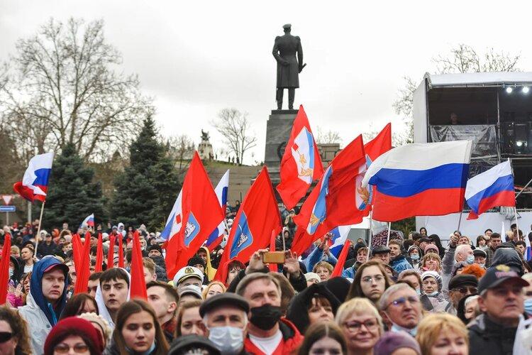 В Севастополе прошел концерт, посвященный седьмой годовщине Русской весны