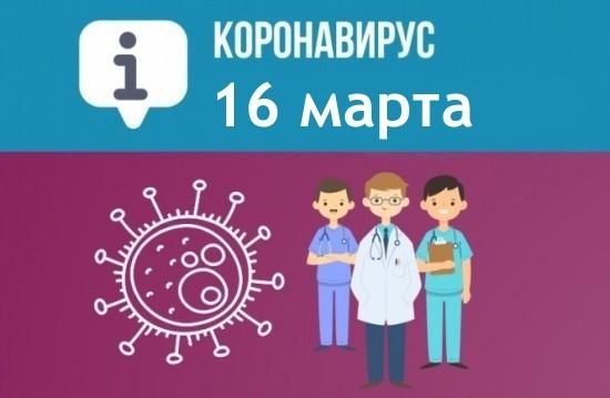 Оперативная сводка по коронавирусу в Севастополе на 16 марта