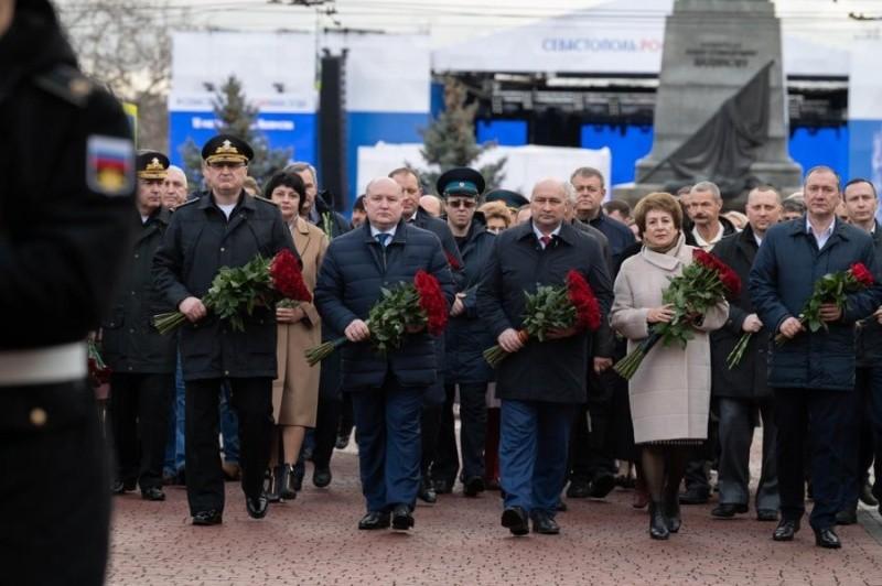 В Севастополе начались празднования годовщины воссоединения с Россией