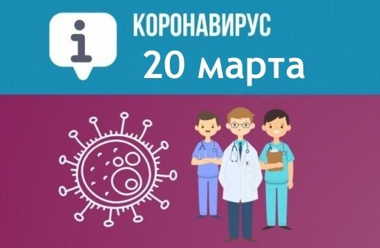 Оперативная сводка по коронавирусу в Севастополе на 20 марта