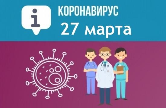 Оперативная сводка по коронавирусу в Севастополе на 27 марта