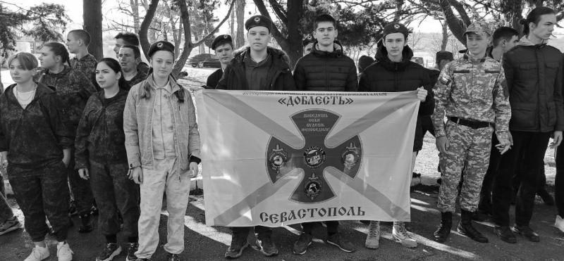 Юные рукопашники Севастополя приняли участие в игре «Щит и меч»