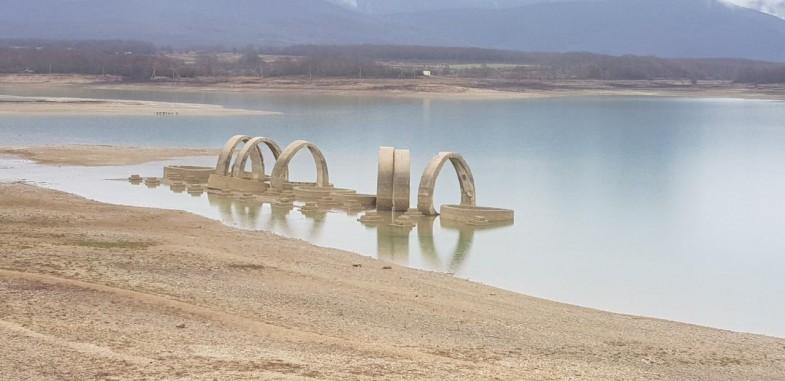 За прошедшие выходные Чернореченское водохранилище пополнилось на 1,5 миллиона кубометров