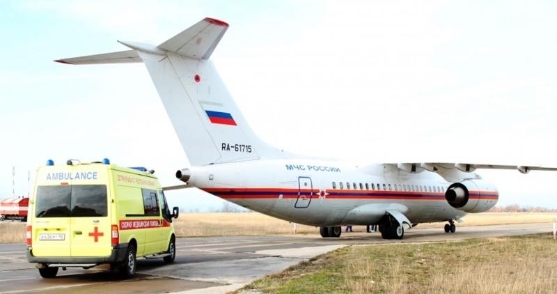 В Севастополе появился аэродром для санитарной авиации