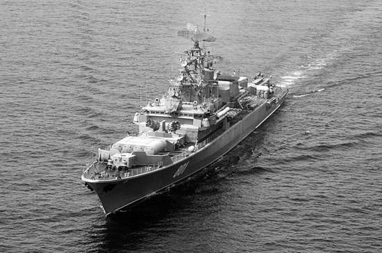 Сторожевой корабль «Ладный» ЧФ вышел в море после завершения планового ремонта