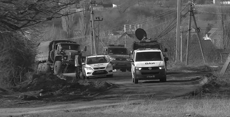 В Крыму прошло специальное учение военной полиции и автомобильной инспекции
