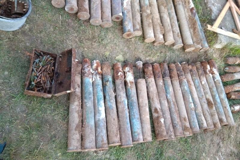 На Северной стороне Севастополя обнаружили 120 взрывоопасных предметов