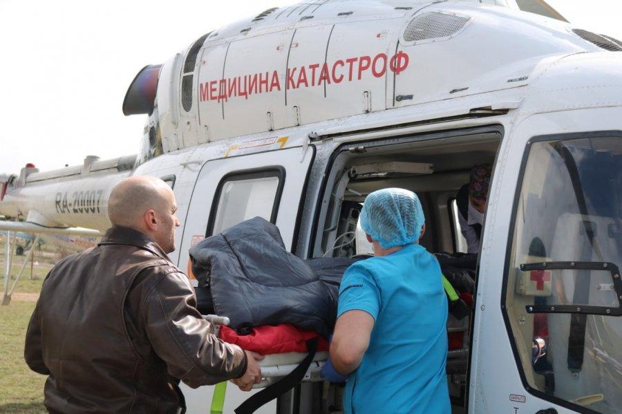 Севастопольская санитарная авиация выполнила первый рейс