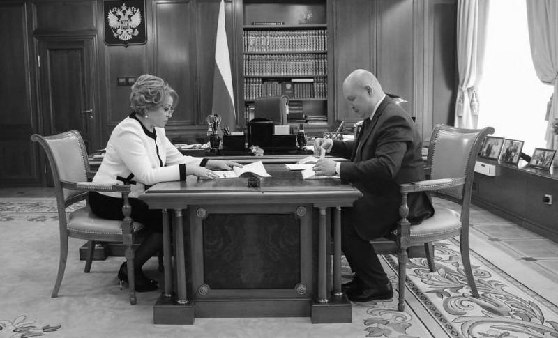 Михаил Развожаев обсудил с Валентиной Матвиенко вопросы стратегического развития Севастополя