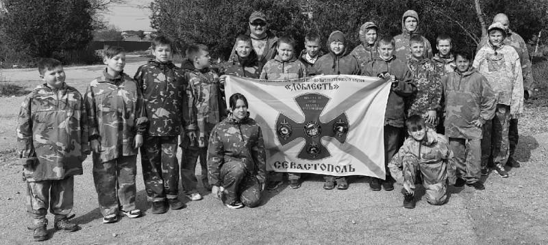 «Красочный» отдых для юных рукопашников Севастополя