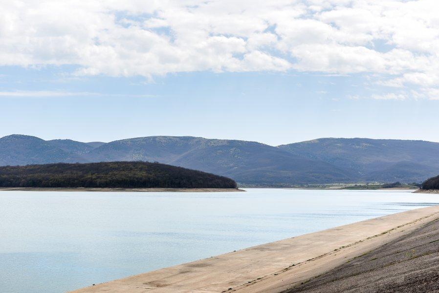 Чернореченское водохранилище заполнено более чем на 40%