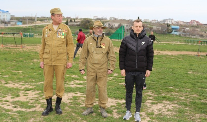 Юные рукопашники Севастополя приняли участие в турнире по мини-футболу