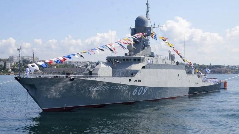8 и 9 мая в Ялте пройдут экскурсии на боевом корабле «Вышний Волочек»