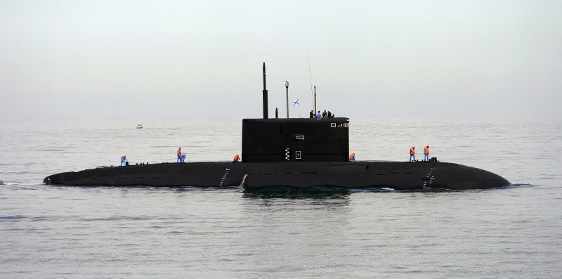 Экипаж подводной лодки «Краснодар» ЧФ сдал курсовую задачу Л-1