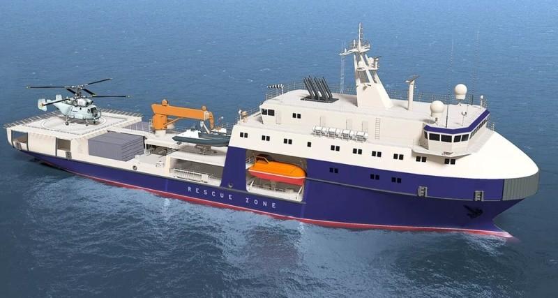 В состав Черноморского флота приняли новый морской танкер