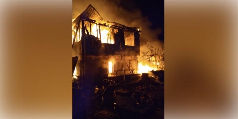 На пожаре в Севастополе погиб ребенок