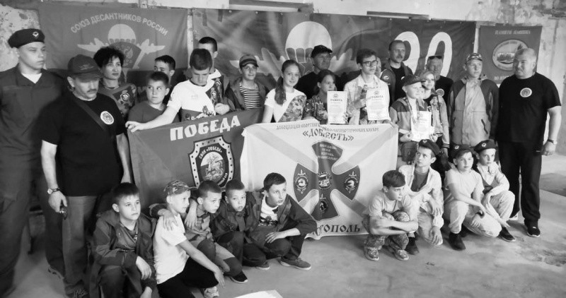 «Севастопольский союз ветеранов десантников» провел традиционные соревнования