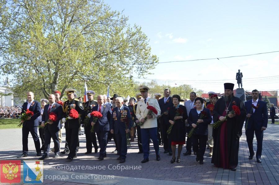 Севастополь празднует День Победы