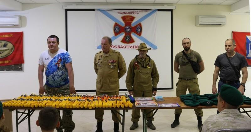 Юные рукопашники Севастополя получили пояса и сертификаты