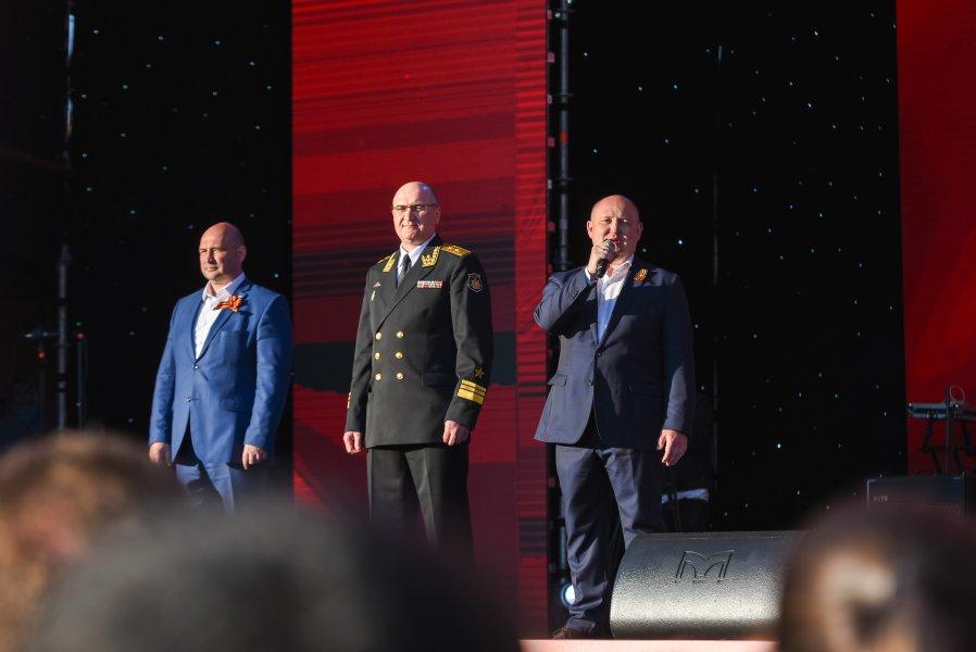 В Севастополе прошел праздничный концерт в честь Дня Победы