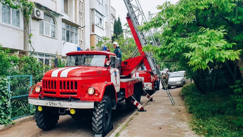 За минувшие выходные в Севастополе произошло 3 пожара