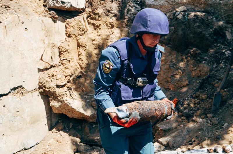33 боеприпаса найдено на территории частного домовладения в Севастополе