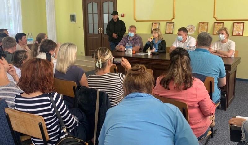 Наталья Поклонская встретилась с жителями Южного берега Крыма
